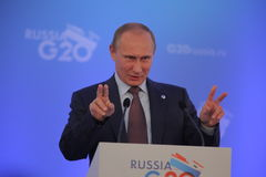 Vladimir Putin Lizenzfreies Stockbild