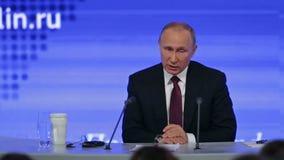 Vladimir Putin banque de vidéos