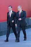 Vladimir Putin and Dmitry Medvedev Royalty Free Stock Photography