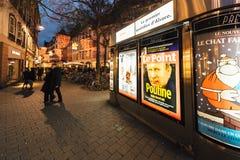 Vladimir Putin est notre ville de magazine de presse d'ami Photo libre de droits