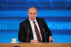 Vladimir Putin Royalty Free Stock Images