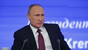 Vladimir Putin stock video