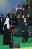 Vladimir Putin und Patriarch Kirill Lizenzfreie Stockbilder