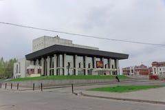 Vladimir, Rússia - 6 de maio 2018 Vladimir Academic Drama Theater imagem de stock royalty free