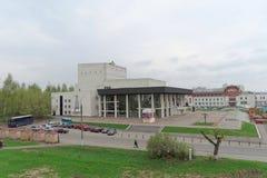 Vladimir, Rússia - 6 de maio 2018 Vladimir Academic Drama Theater fotos de stock royalty free