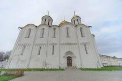 Vladimir, Rússia - 6 de maio 2018 Vladimir Cathedral Holy Assumption Cathedral imagem de stock