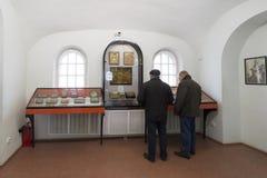 VLADIMIR, ROSJA -07,11,2015 Muzeum kryształ Zdjęcie Stock