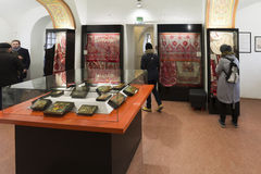 VLADIMIR, ROSJA -07,11,2015 Muzeum kryształ Obrazy Royalty Free