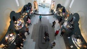 VLADIMIR, RUSSIA -07,11,2015 Museo del cristallo stock footage