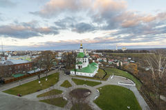 Vladimir, Russia - November 05. 2015. The Church of St. Nicholas was built in  17th century Royalty Free Stock Photography