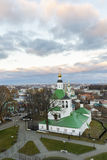 Vladimir, Russia - November 05. 2015. The Church of St. Nicholas was built in  17th century Stock Images