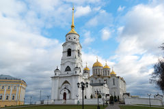 VLADIMIR, RUSSIA -05.11.2015. Uspensky Cathedral - Stock Photos