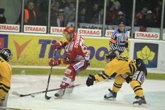 Vladimir Ruzicka - czech hockey extraleague Stock Images