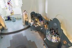 VLADIMIR RYSSLAND -07,11,2015 Museum av kristallen Fotografering för Bildbyråer