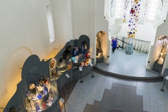 VLADIMIR RYSSLAND -07,11,2015 Museum av kristallen Royaltyfri Fotografi