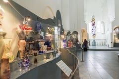 VLADIMIR RYSSLAND -07,11,2015 Museum av kristallen Arkivbilder