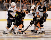 Vladimir Sabotka Boston Bruins Foto de archivo