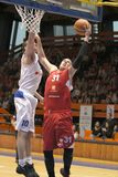 Vladimir Stimac - basket-ball Nymburk de CEZ Photo libre de droits