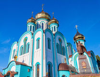 Vladimir Temple of the city of Kharkiv Stock Photo