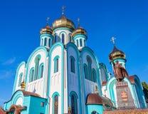 Vladimir Temple van de stad van Kharkiv Stock Foto