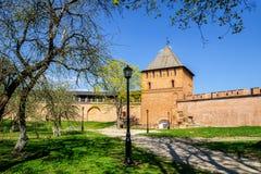 Vladimir Tower, Novgorod el Kremlin Fotos de archivo libres de regalías