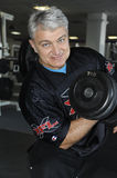 Vladimir Turchinsky. In one of the fitness centres of a network of clubs Mark Avrely.2 April 2009.  (Dynamite) - Russia's popular television and radio, showman Royalty Free Stock Images
