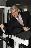 Vladimir Turchinsky. In one of the fitness centres of a network of clubs Mark Avrely.2 April 2009.  (Dynamite) - Russia's popular television and radio, showman Stock Photography
