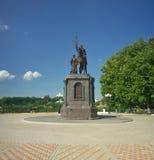 Vladimir Vladimir region, Ryssland - Juli 17, 2016: Prins Vladimir Royaltyfria Foton