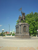 Vladimir Vladimir region, Ryssland - Juli 17, 2016: Prins Vladimir Royaltyfri Foto