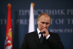 Vladimir Vladimirovich Putin Fotografia de Stock Royalty Free