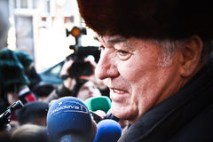 Vladimir Voronin immagini stock libere da diritti