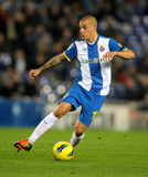 Vladimir Weiss of Espanyol Royalty Free Stock Photography
