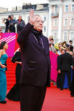 Vladimir Zhirinovsky greets fans at XXXVI Moscow International Film Festival Royalty Free Stock Photography