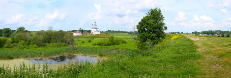Vladimirskaya area, Small russian town Suzdal Stock Images