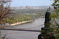 Vladimirskaya Gorka, Kiev Fotografering för Bildbyråer