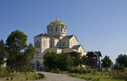 Vladimirskiy cathedral in Sevastopol, Crimea Royalty Free Stock Images