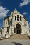 Vladimirsky Cathedral (the burial vault of admirals), Sevastopol Stock Photos