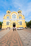 Vladimirsky Cathedral, Kiev, Ukraine Stock Photography