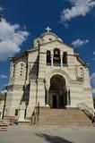 Vladimirsky-Kathedrale (die Beerdigungswölbung von Admirälen), Sewastopol Stockfotos
