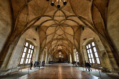 Vladislav Hall, Prague Royalty Free Stock Photography