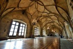 Vladislav Hall, Prague Royalty Free Stock Images