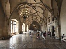 Vladislav hall in the royal palace prague czech republic europe Stock Photo