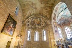 Vladislav kapell i Prague Arkivbilder