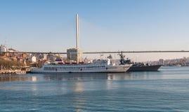 vladivostok Χρυσό κέρατο κόλπων Στοκ φωτογραφίες με δικαίωμα ελεύθερης χρήσης
