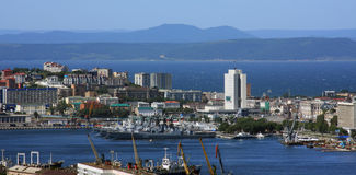 Vladivostok. City center, Russian Federation Royalty Free Stock Image