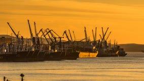 vladivostok Bucht-goldenes Horn Stockbild