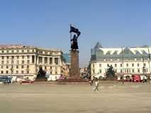 Vladivostok - Central Square. Photographed in Vladivostok, Russias stock image