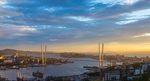 Vladivostok cityscape. Royalty Free Stock Photos