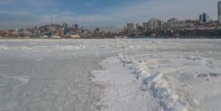 Vladivostok cityscape. Royalty Free Stock Photo