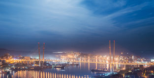 Vladivostok cityscape. Royalty Free Stock Photography